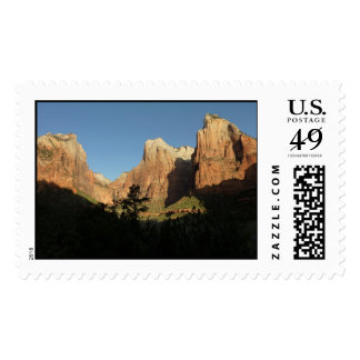 Court of the Patriarchs at Zion National Park Postage