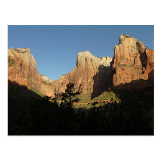 Court of the Patriarchs at Zion National Park Postcard