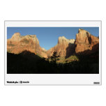 Court of the Patriarchs at Zion National Park Wall Decal