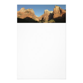 Court of the Patriarchs in Zion National Park Stationery