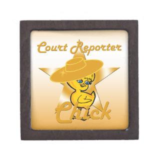 Court Reporter Chick #10 Gift Box