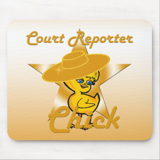 Court Reporter Chick #10 Mouse Pad