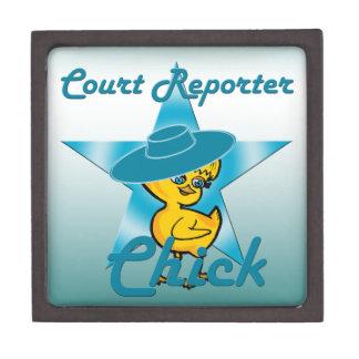 Court Reporter Chick #7 Gift Box