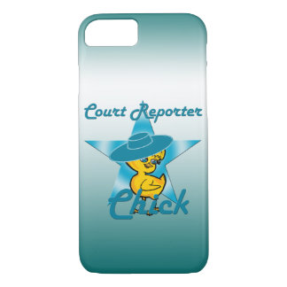 Court Reporter Chick #7 iPhone 8/7 Case