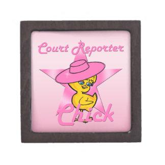 Court Reporter Chick #8 Gift Box