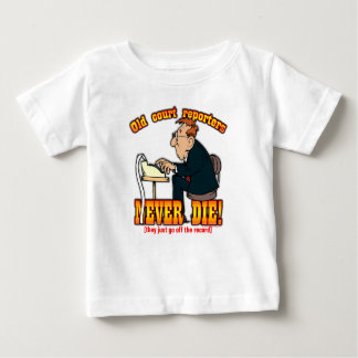 Court Reporters Baby T-Shirt