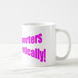 Court Reporters do it phonetically! Coffee Mug