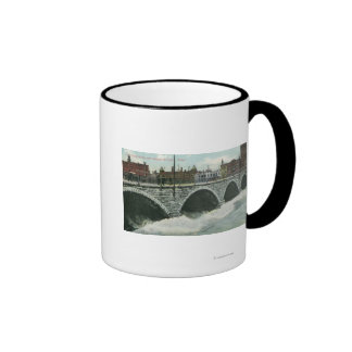 Court Street Bridge and Genesee at High Water Mugs