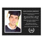 """Court Symbol Photo Law School Graduation Invite 5"""" X 7"""" Invitation Card"""