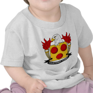 Courtenay Family Crest T-shirts