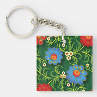 Courteous Merit Remarkable Positive Keychain