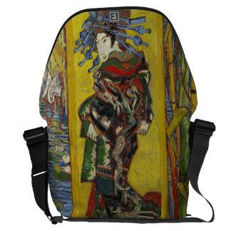 Courtesan after Eisen by Vincent Van Gogh Courier Bag