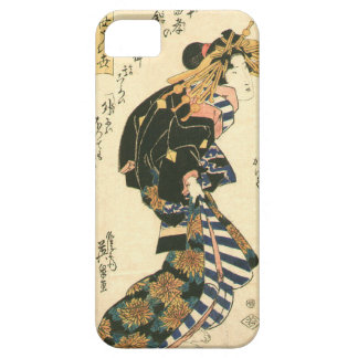 Courtesan and Riddle by Keisai Eisen iPhone SE/5/5s Case