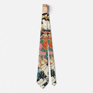 Courtesan Koshikibu 1816 Tie