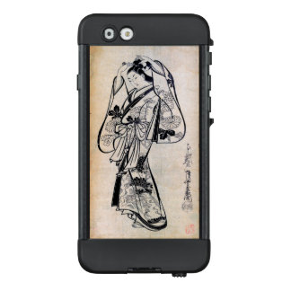Courtesan Placing a Hairpin in Her Hair LifeProof NÜÜD iPhone 6 Case
