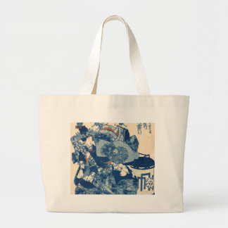 courtesan Usugumo of Tama-ya. Large Tote Bag