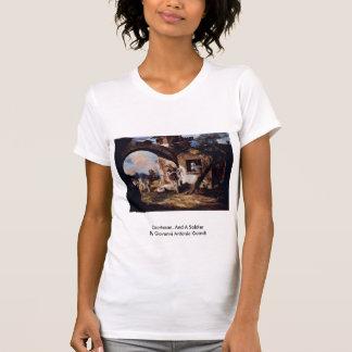 CourtesanAnd A SoldierBy Giovanni Antonio Guardi T-shirts