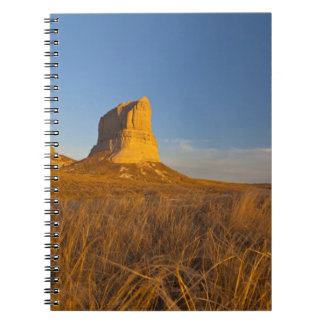 Courthouse and Jailhouse Rock near Bridgeport Notebook