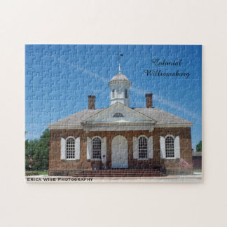 Courthouse Colonial Williamsburg Jigsaw Puzzle
