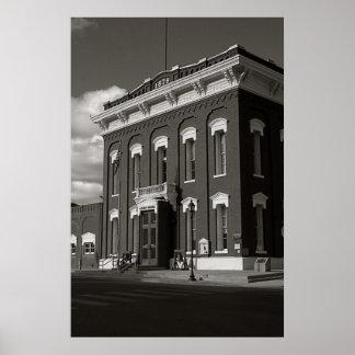 Courthouse, Eureka, Nevada Poster