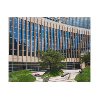 Courthouse Facade and Plaza in Minneapolis Canvas Print