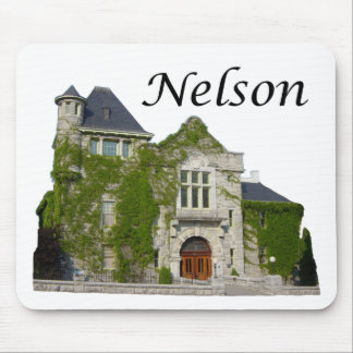 Courthouse: Nelson, BC Mouse Pad