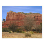 """""""Courthouse"""" Red Rock Photographic Print"""