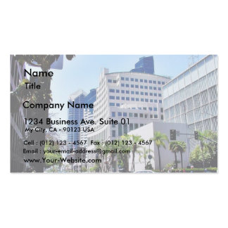Courthouse Street City Buildings Double-Sided Standard Business Cards (Pack Of 100)
