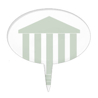 Courthouse Symbol Cake Topper