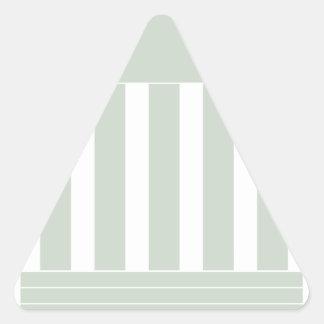 Courthouse Symbol Triangle Sticker