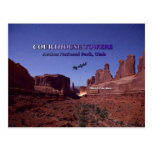 Courthouse Towers - Arches National Park, Utah Post Cards