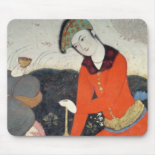 Courtier at the Court of Shah Abbas I Mouse Pad