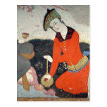 Courtier at the Court of Shah Abbas I Postcards