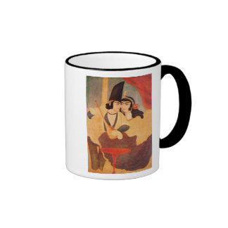 Courtier from the Court of Shah Abbas Coffee Mugs