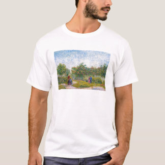 Courting Couples in the Voyer d'Argenson Park Gogh T-Shirt