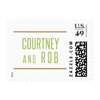 Courtney and Rob Postage