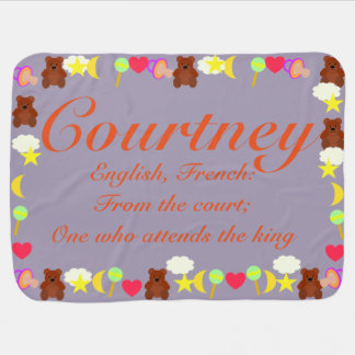 Courtney Baby Blanket Template