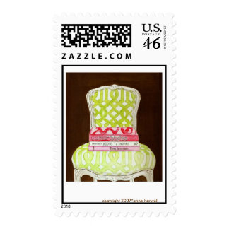 Courtney Barnes Chair Stamp - Customized