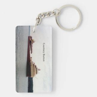 Courtney Burton Key Chain