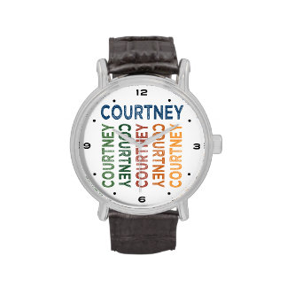 Courtney Cute Colorful Wristwatches