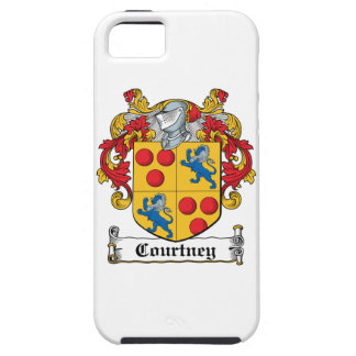 Courtney Family Crest iPhone 5 Case