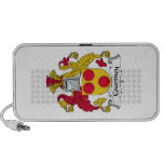 Courtney Family Crest Portable Speakers