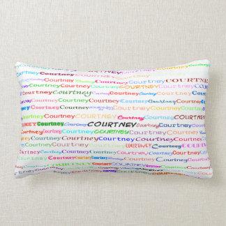 Courtney Text Design II Lumbar Pillow