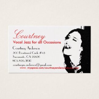 Courtney's business Card