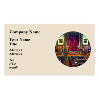 Courtroom Double-Sided Standard Business Cards (Pack Of 100)