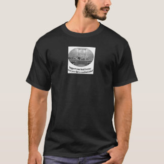 Courtroom Scene with Attorney quote T-Shirt
