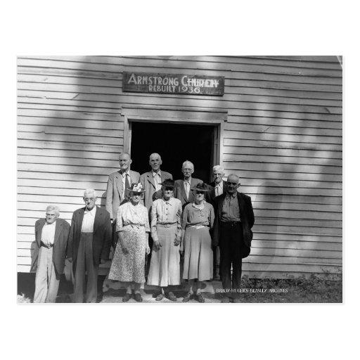 Courtry Church, circa 1950 Postcard