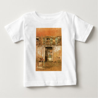 Courtyard and Canal by James McNeill Whistler Infant T-shirt