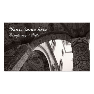 Courtyard Detail Double-Sided Standard Business Cards (Pack Of 100)