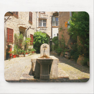Courtyard Fountain Mouse Pads